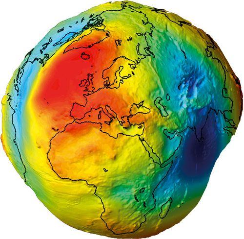 Real-shape-of Earth