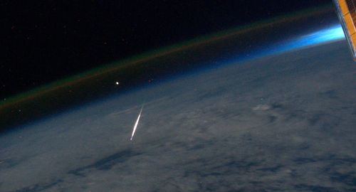 Perseid from outer space