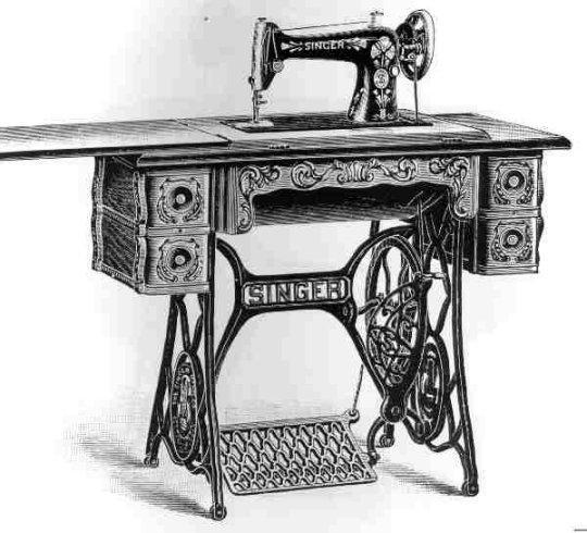 Singer-class-66-treadle-sewing-machine