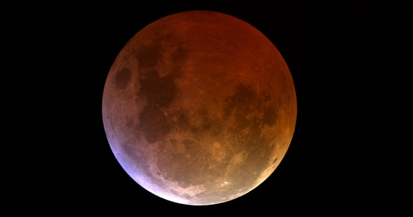 Lunar-eclipse-shadow