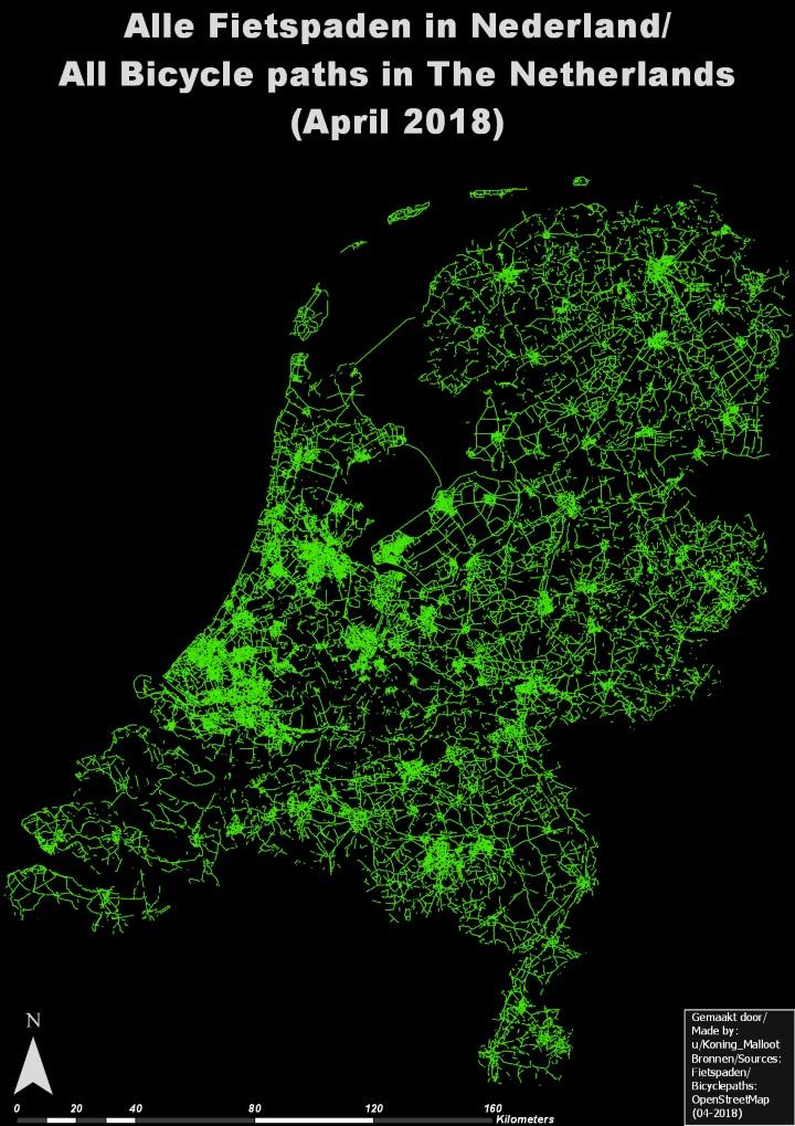 Netherlands-bike-paths